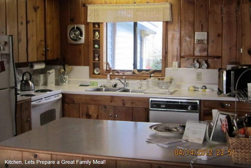 Beach House kitchen, Arch Cape, Oregon