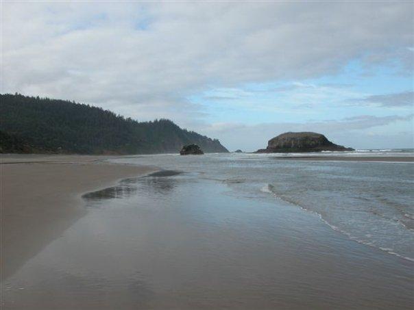 Falcon Cove Beach, Falcon Cove, Oregon