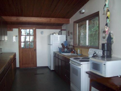 Beach House kitchen Door, Falcon Cove, Oregon