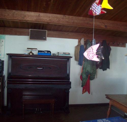 Beach House Piano, Falcon Cove, Oregon